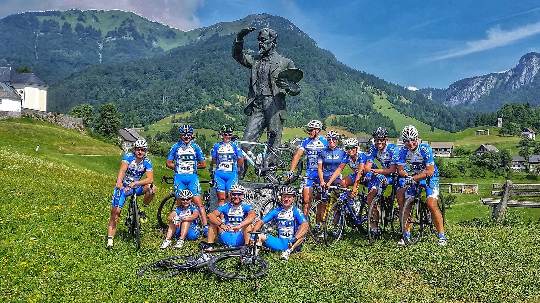 Dolazak gostiju iz Slovenije BK Bambi Biciklizam