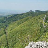 Panorama Kozare sa vidikovca Pavkovac