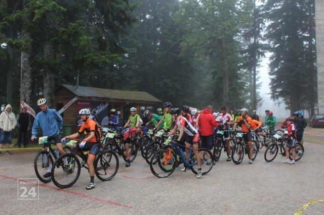 Start Maratona Biciklizam