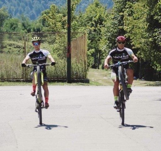 Sinisa Lukic i Damjan Stupar Biciklizam