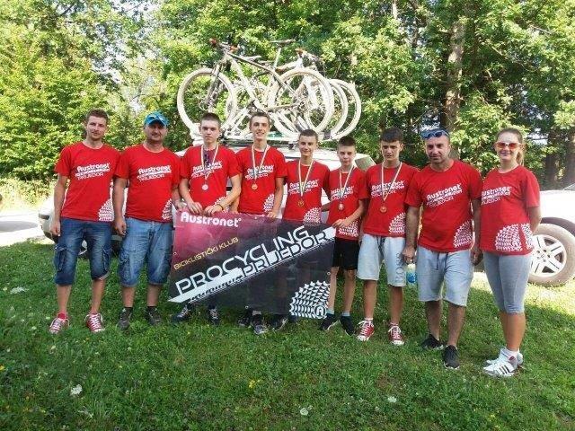 Team BK Kozara zauvijek Biciklizam