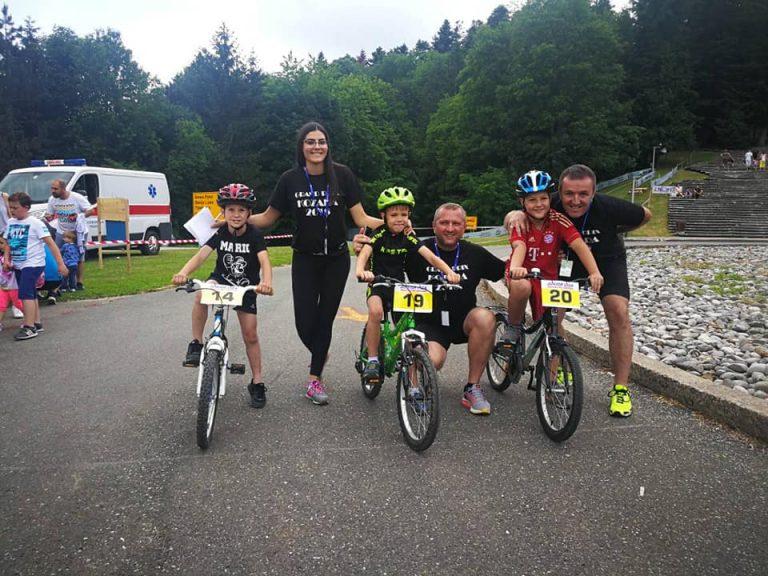 Najmladji biciklisti na Grand Pirx Kozara 2018