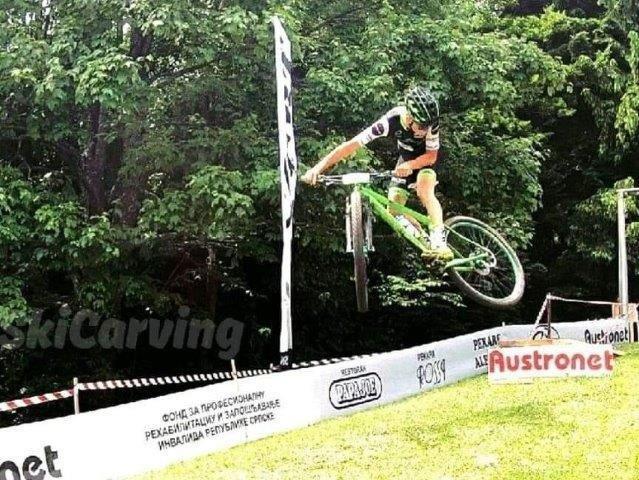 Mrakovica skok XCO Grand Prix KOZARA Biciklizam